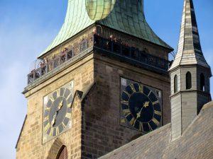 Aussichtsterasse der St. Bartholomäus-Kathedrale