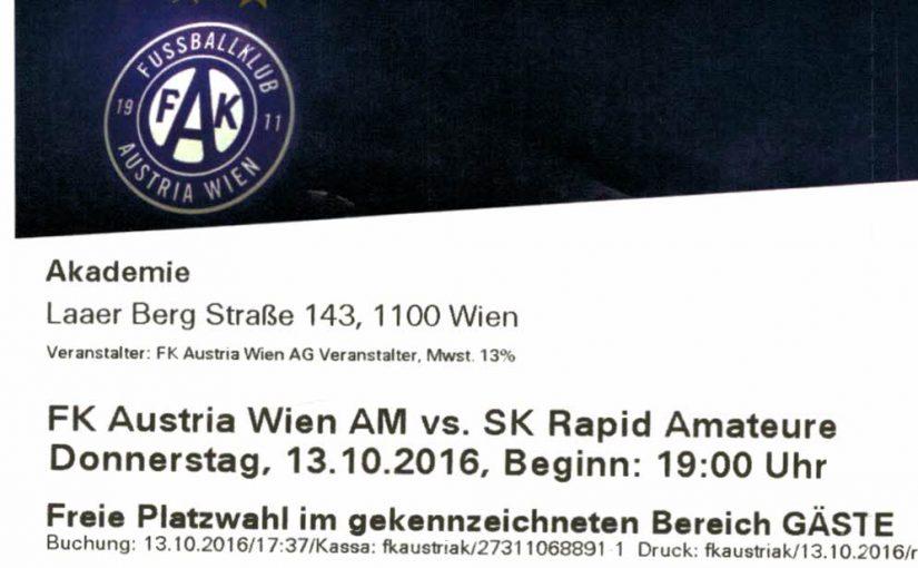 Austria Amateure – Rapid II